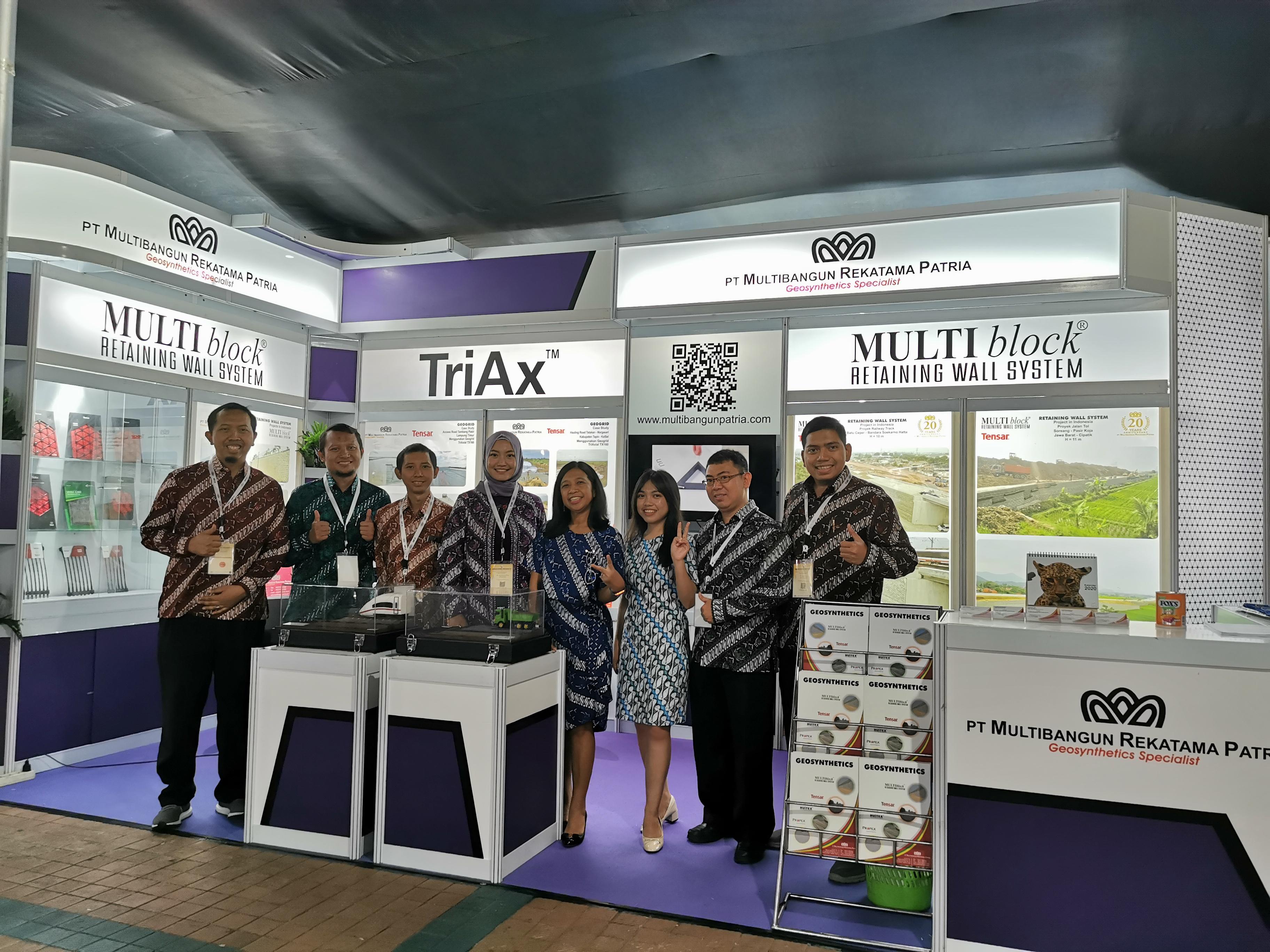 PT. Multibangun Rekatam Patria Pameran KNTJ Ke X 2019